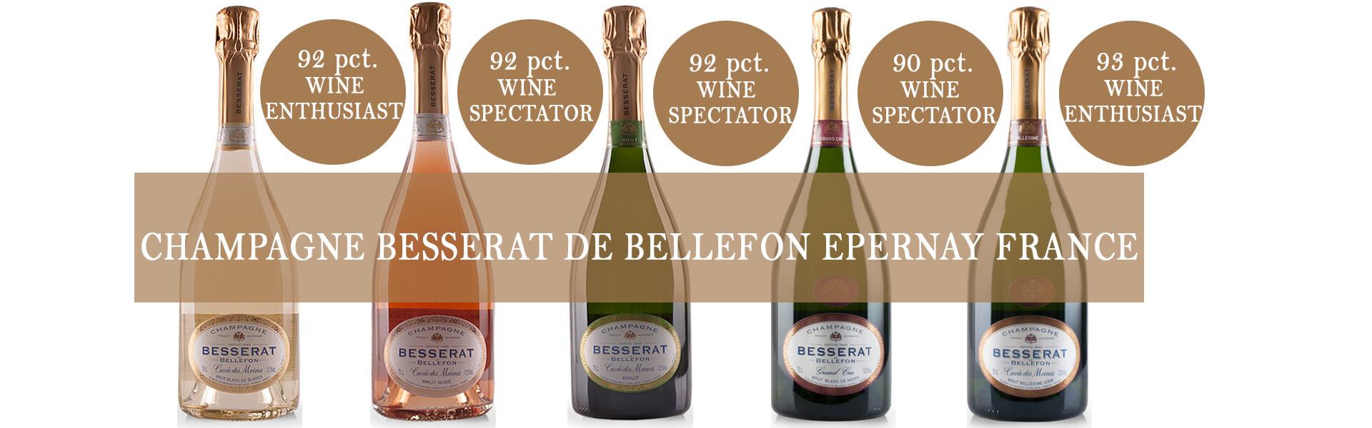 Banner Champagne Besserat de Bellefon