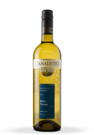Vin Canaletto, DOC Trentino, Muller Thurgau 2009 (0.75L) Image