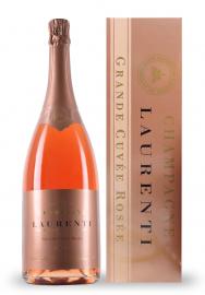 Champagne Laurenti Magnum Grande Cuvee Rose Brut (1.5L)