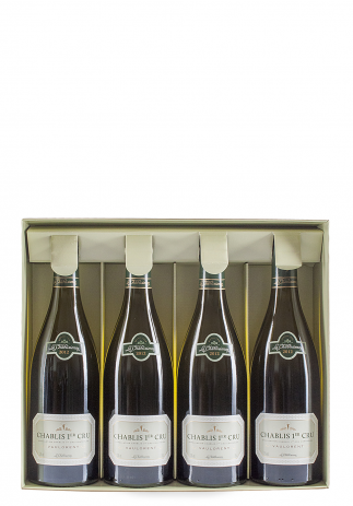 Pachet Vin Vaulorent, AOC Chablis Premier Cru 2012, 3 sticle + 1 gratis (4x0.75L)