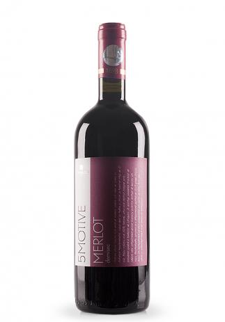 Vin Domeniile Vinju Mare, 5 Motive, Merlot (0.75L) Image