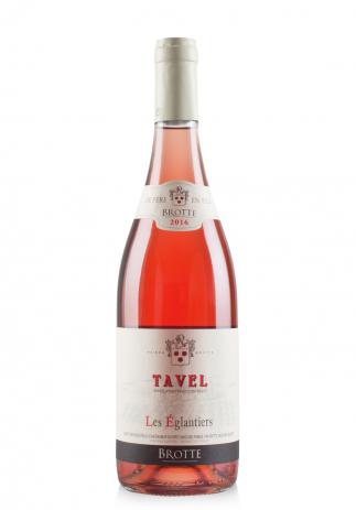 Vin Maison Brotte, Les Eglantiers, A.O.P. Tavel, 2016 (0.75L) (1646, VIN ROSE SEC COTES DU RHONE)