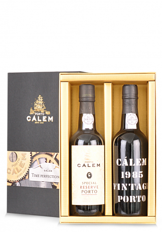 Vin Calem, Duo Time Perfectionist, Special Reserve Porto & Vintage 1985 (2 x 0.375L)