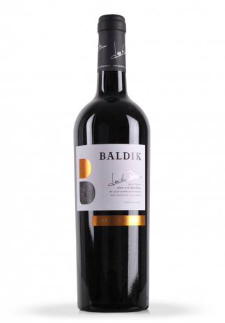 Vin Baldik, Merlot, Selected by Jean Luc Pouteau, 2014 (0.75L)