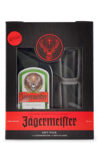 Set cadou Jagermeister + 2 pahare (1L) Image