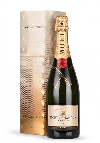 Champagne Moet & Chandon, Imperial Brut, Editie Coffret Gold (0.75L) Image