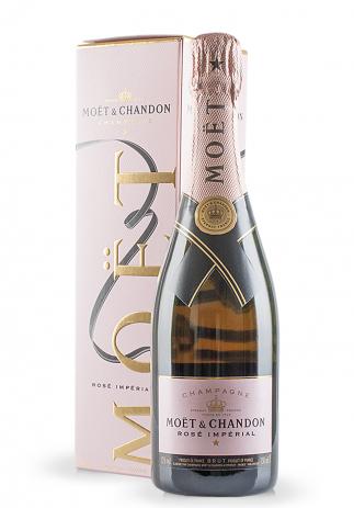 Champagne Moet & Chandon, Rosé Imperial + Cutie Cadou (0.75L)