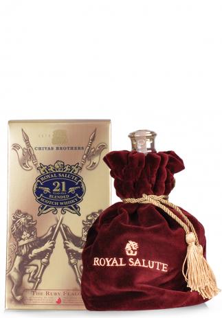 Whisky Chivas Royal Salute, 21 ani, Blended Scotch, The Ruby Flagon (0.7L)