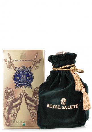 Whisky Chivas Royal Salute, 21 ani, Blended Scotch, The Emerald Flagon (0.7L)