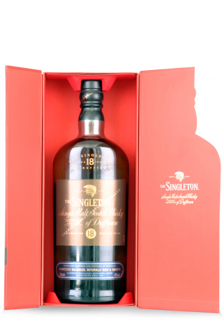 Whisky The Singleton, 18 ani, Single Malt Scotch + gift box (0.7L)