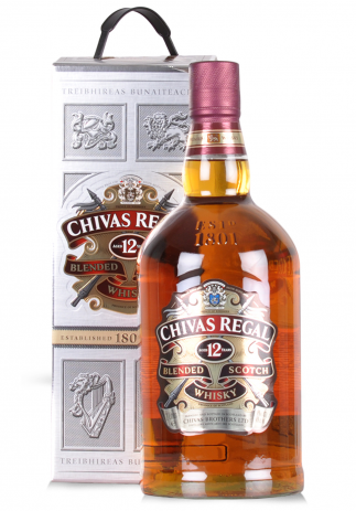 Whisky Chivas Regal 12 ani, Blended Scotch (2L)