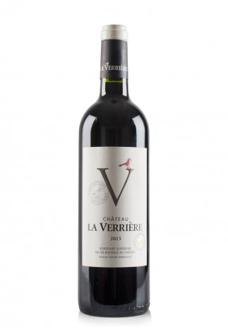 Vin Château La Verrière Rouge, Bordeaux Superieur 2015 (0.75L)