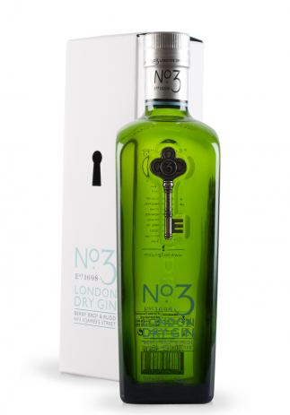 Gin No.3, London Dry Gin, Berry Bros & Rudd No.3 St. James's Street (0.7L)