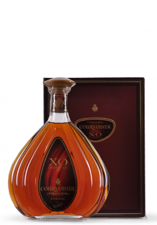 Cognac Courvoisier XO Imperial + Cutie Cadou, Le Cognac de Napoleon (0.7L)