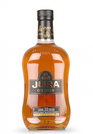 Whisky Isle of Jura Origin 10 ani, Single Malt Scotch (0.7L)