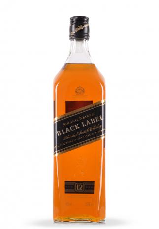 Whisky Johnnie Walker, Black Label Blended Scotch (1L) Image