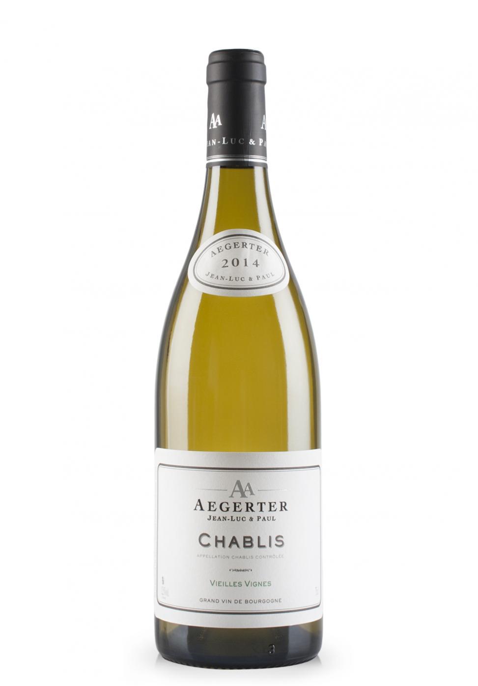 Vin Aegerter Chablis, AOC Chablis Contrôlée, Vieilles Vignes 2014 (0.75L)