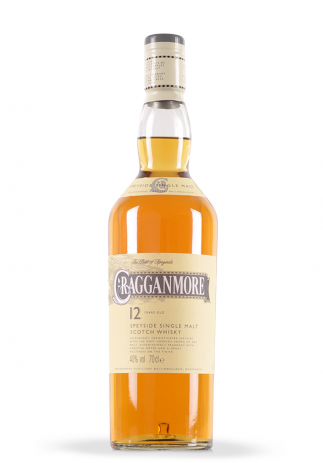 Whisky Cragganmore, Single Malt Scotch 12 ani (0.7L)