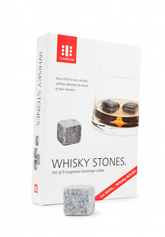 Whisky Stones Beverage Cubes Set de 9 bucati