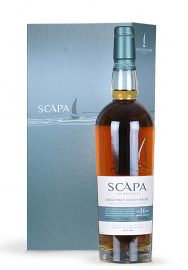 Whisky Gift (Single Malt Scotch Scapa 16 ani + 6 Whisky Stones)