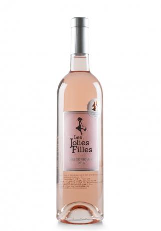 Vin Les Jolies Filles Rosé, AOC Côtes de Provence, 2016 (0.75L) Image
