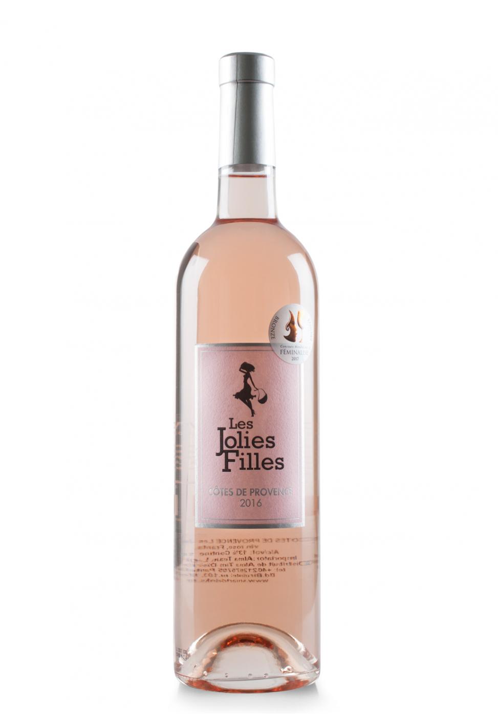 Vin Les Jolies Filles Rosé, AOC Côtes de Provence, 2016 (0.75L)