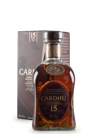 Whisky Cardhu, Single Malt Scotch, 15 ani (0.7L)