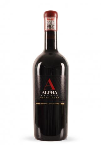 Vin Alpha Estate Red, (Syrah, Merlot, Xinomavro), 2009 (1.5L) Image