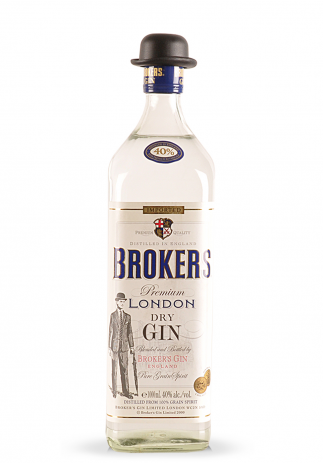 Gin Broker's Premium London Dry (1L) Image