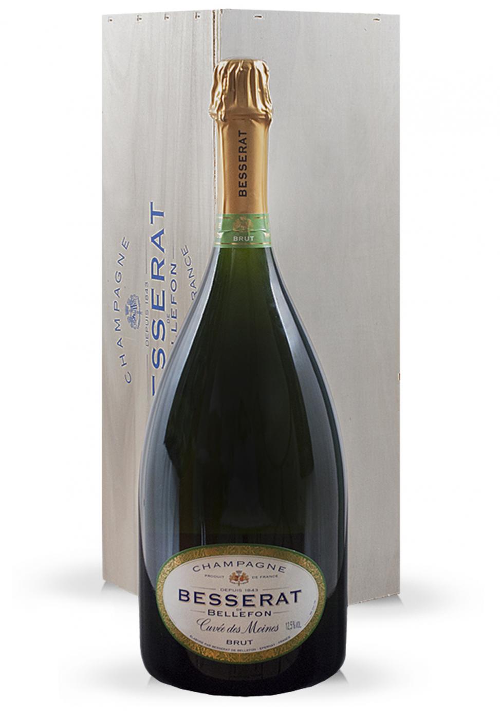 Champagne Besserat de Bellefon Matusalem, Cuvée des Moines Brut (6L)