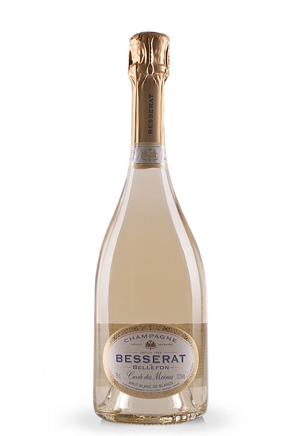Champagne besserat de bellefon cuv e des for Belle jardin blanc de blancs