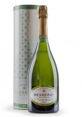 Champagne Besserat de Bellefon, Cuvée des Moines, Brut + Cutie cadou (0.75L) Image