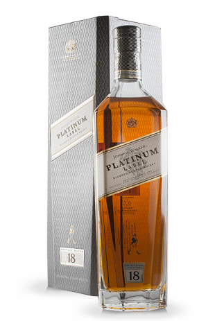 Whisky Johnnie Walker Platinum Label, Private Blend Aged 18 ani (1L) Image