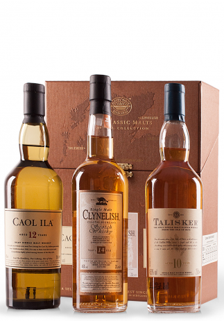 Whisky Classic Malts Collection, Coastal Coffret (3x20cl)