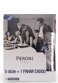 Bere Peroni Sticla (0.33L x 6) + Cadou