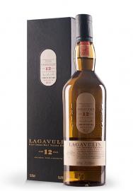 Whisky Lagavulin 12 ani, Islay Single Malt Scotch Whisky (0.7L)
