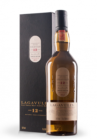 Whisky Lagavulin 12 ani, Single Malt Scotch Whisky (0.7L)