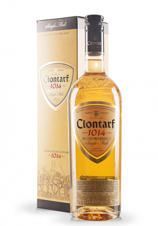 Whisky Clontarf, Irish Whiskey Single Malt + Gift Box (0.7L) (2858, SINGLE MALT IRISH WHISKEY)
