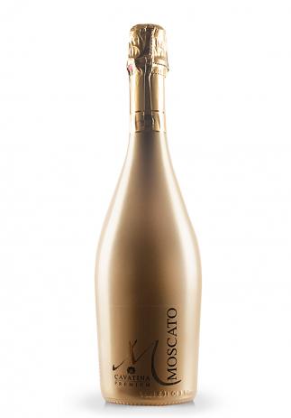 Spumant Cavatina Premium, Muscat Sparkling Gold bottle (0.75L) (2881, SPUMANT ITALIA)