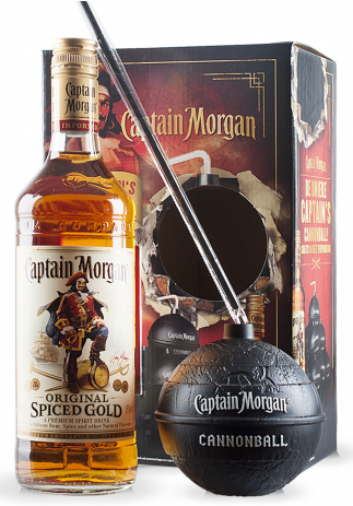 Rom Captain Morgan Spiced Gold Cannonball (0.7L) Image