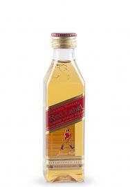 Whisky Johnnie Walker Red, Label Blended Scotch (0.05L)
