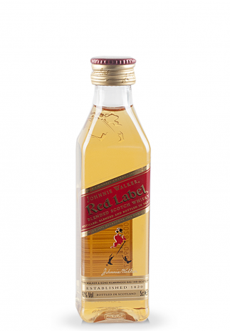 Whisky Johnnie Walker Red, Label Blended Scotch (0.05L) Image