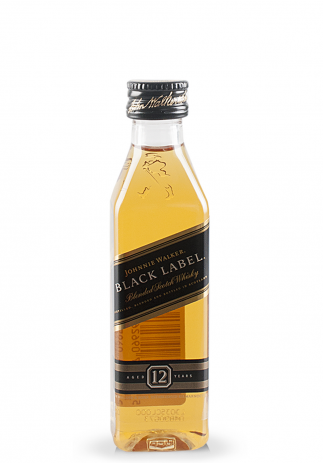 Whisky Johnnie Walker, Black Label Blended Scotch (0.05L) Image