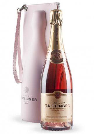 Champagne Taittinger Jacket, Prestige Rose Brut (0.75L)