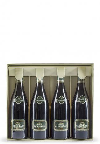 Pachet Vin Château Grenouilles, Chablis Grand Cru 2010, 3 sticle + 1 gratis (4x0.75L)