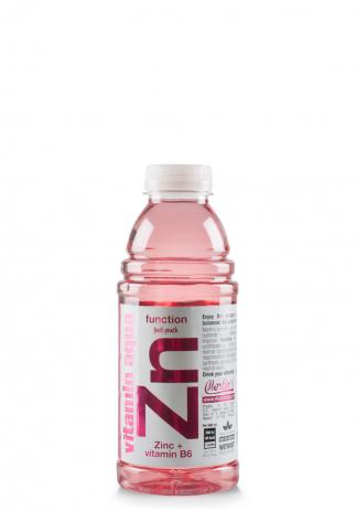 Aqua Vitam!n Zinc +Vitamina B6 cu gust de punch de fructe (Bax 6 st x 600ml) Image
