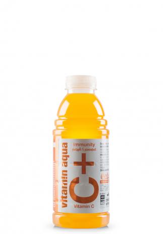 Aqua Vitam!n Vitamina C, Imunitate cu gust de ananas si fructul pasiunii, C+ (Bax 6 st x 600ml) Image