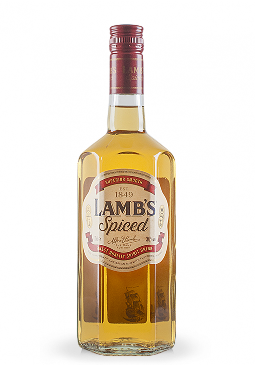 Rum lamb 39 s spiced superior smooth 0 7l for Best spiced rum drinks