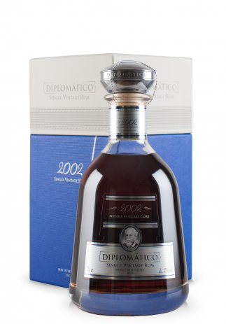 Rom Diplomatico Single Vintage 2002, Limited Edition (0.7L)