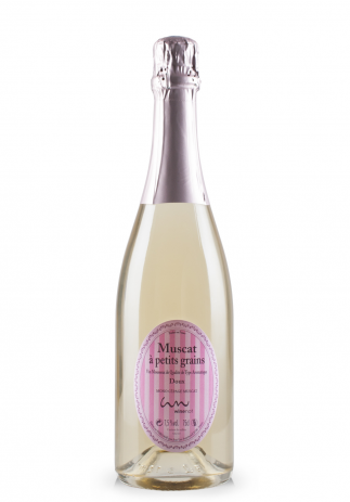 Vin Spumant Winenot, Muscat à petit grains, Vin Mousseux de Qualité de Type Aromatique (0.75L)